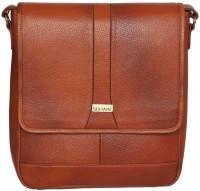 Scharf Messenger Bag(Tan, 10 inch)