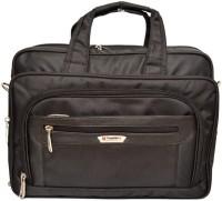 View Sapphire 14 inch Expandable Laptop Messenger Bag(Black) Laptop Accessories Price Online(Sapphire)