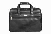 Scharf Shoulder Bag(Black, 15 inch)