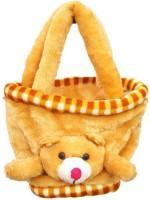 OM TEDDY BAG BROWN Multipurpose Bag(Brown, 9 inch)