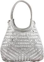 Brazeal studio Shoulder Bag(Silver, 14 inch)