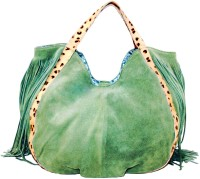 MNMS MNMS-04 Shoulder Bag(Green, 16 inch)