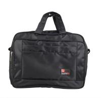 View Safex 15 inch Expandable Laptop Messenger Bag(Black) Laptop Accessories Price Online(Safex)