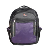 View Safex BEETA_BLACK-PURPLE Laptop Bag(Black & Purple) Laptop Accessories Price Online(Safex)