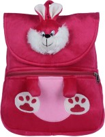 Ultra Bunny Soft Toy School Bag(Pink, 14 inch)