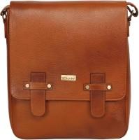 Scharf Messenger Bag(Tan, 12 inch)