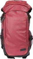 Sibyl Leatherite Unisex Backpack Backpack(Maroon, 12 L)