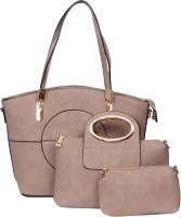 The Ethnic Wears Shoulder Bag(Beige, 14 inch)
