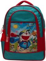 Tinytot Doraemon Waterproof School Bag(Blue, 15 inch)