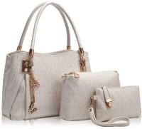 LACIRA Shoulder Bag(White, 12 inch)