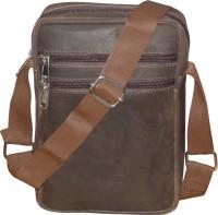 Style 98 Messenger Bag(Brown, 5 L)