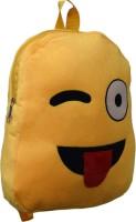 AARIP Smiley_04 School Bag(Yellow, 14 inch)