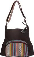 Spice Art Shoulder Bag(Black, 16 inch)