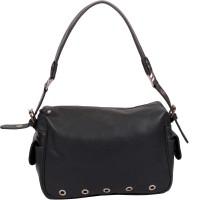 Romari Shoulder Bag(Black, Grey, 5 inch)