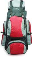 Campfire Mini Treking Waterproof Weekender(Red, Black, Grey, 65 L)