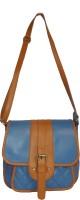 Spice Art Shoulder Bag(Blue, 11 inch)