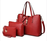 LACIRA BA004RED Shoulder Bag(Red, 12 inch)