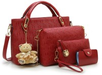 LACIRA School Bag(Red, 12 inch)