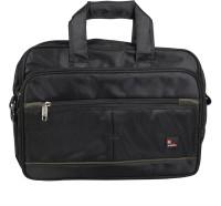 View Safex 16 inch Expandable Laptop Messenger Bag(Black) Laptop Accessories Price Online(Safex)