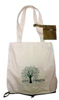 Ecoraasta Bag in a Bag Multipurpose Bag(Green, 16 inch)