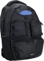 DigiFlip Elite LB002 Laptop Bag For 15.6 inch Laptop(Black & Blue)