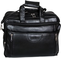 Easies 17 inch Half Expandable with Secret Pocket Laptop Bag(Black)