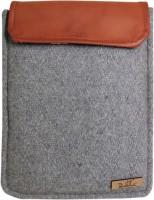 Dastkhat DA1150803 Mariner Ipad Laptop Bag(Dark Grey, Tan)