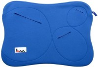 View Techbyte Zip Sleeve Laptop Bag(Blue) Laptop Accessories Price Online(Techbyte)
