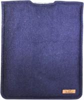Dastkhat DA1150804 Pioneer Ipad Laptop Bag(Navy Blue, Mustard)