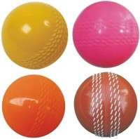 CEELA Wind Cricket Rubber Ball(Pack of 4, Multicolor)
