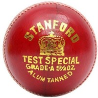 Stanford Test Special Cricket Leather Ball(Pack of 1, Red)