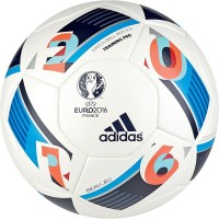 Adidas Euro 16 Training Pro Football -   Size: 5(Pack of 1, Multicolor)