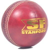 Stanford League Special Cricket Leather Ball(Pack of 1, Red)