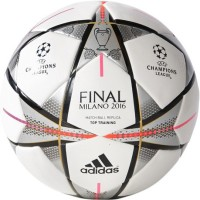 Adidas Finale Milano Top Training Match Ball Replica Football -   Size: 5(Pack of 1, White, Black, Silver)