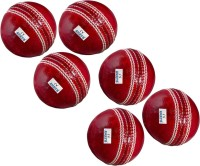 Avats 6 Cricket Ball Set Cricket Leather Ball(Pack of 6, Red)