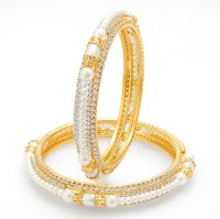 Sukkhi Alloy Gold-plated Bangle(Pack of 2)
