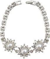 Taj Pearl Alloy Pearl Bracelet