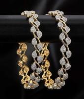 Jewels Galaxy Alloy Bangle Set(Pack of 2)