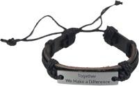 Taj Pearl Leather Bracelet