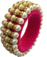 B-Fashionable Acrylic Gold-plated Bangle