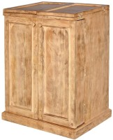 Shop Sting Solid Wood Bar Cabinet(Finish Color - Natural Brown)