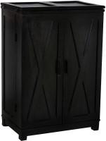 Shop Sting Solid Wood Bar Cabinet(Finish Color - Walnut)