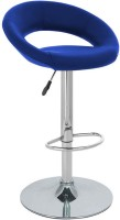 View The Furniture Store Leatherette Bar Stool(Finish Color - Blue) Furniture (The Furniture Store)