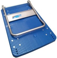 View SK ENGINEERING Plastic Bar Trolley(Finish Color - blue) Furniture (SK ENGINEERING)