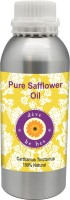DèVe Herbes Pure Safflower Oil 630ml-Carthamus Tinctorius 100% Natural Cold Pressed(630 ml)