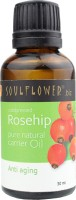 Soulflower Rosehip Carrier Oil - Coldpressed(30 ml)