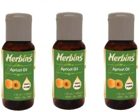 Herbins Apricot Oil Combo-3(150 ml)