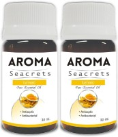 Aroma Seacrets Turmeric Pure Essential Oil (30ml) - Pack of 2(60 ml)