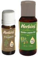 Herbins Essential Oil (Tea Tree & Jojoba)(60 ml)