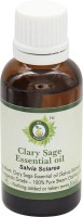 R V Essential Pure Clary Sage Essential Oil 30ml- Salvia Sclarea(30 ml)